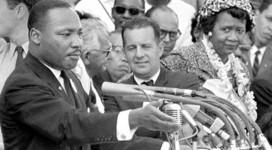 Martin Luther King Jr. Speaking Image