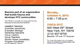 YWCA Job Fair Flyer3