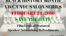 BLACK HISTORY MONTH SALON SERIESFEBRUARY 24, 2016SAVE THE DATE