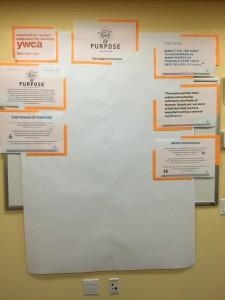 Blank purpose wall