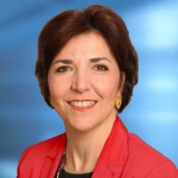 This close-up portrait depicts Rosemarie Bonelli, Interim CEO of the YWCA-NYC.