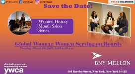 WHM Save the Date - BNY Mellon ywcanyc.org