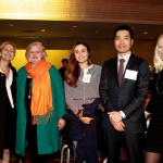 YWCA NYC AWL 2018 Honoree Ginger Mosier and guests