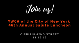 You're invited to the 46th Annual Salute Luncheon on November 19th at Cipriani 42.