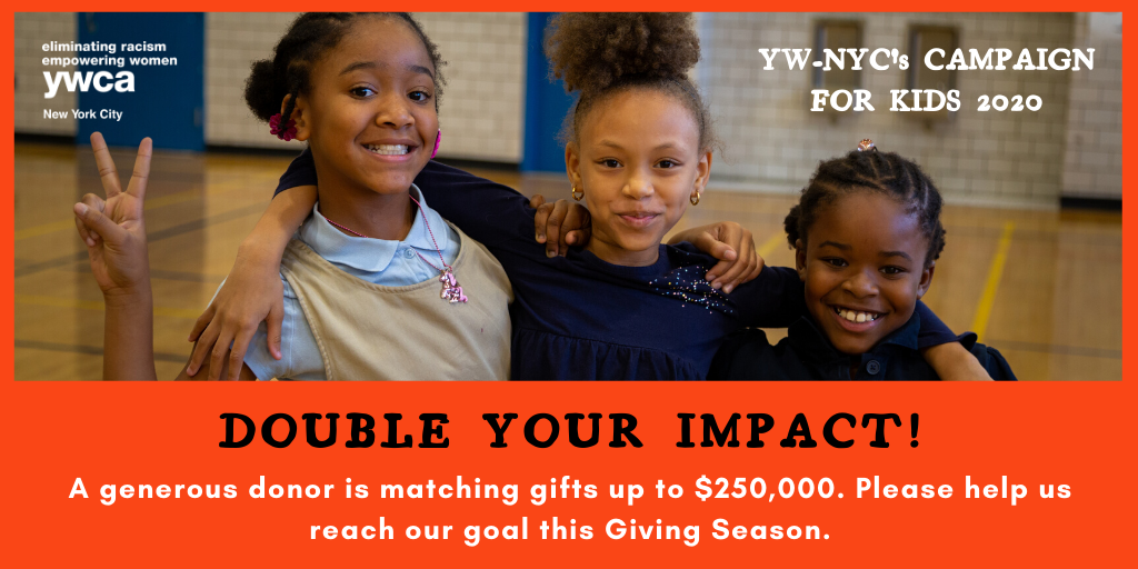 The Cleveland H. Dodge Foundation will match NEW gifts up to $250,000! Please help us reach our goal.