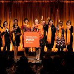 The new class of Academy of women Leaders is inducted at Cipriani 42nd Street.