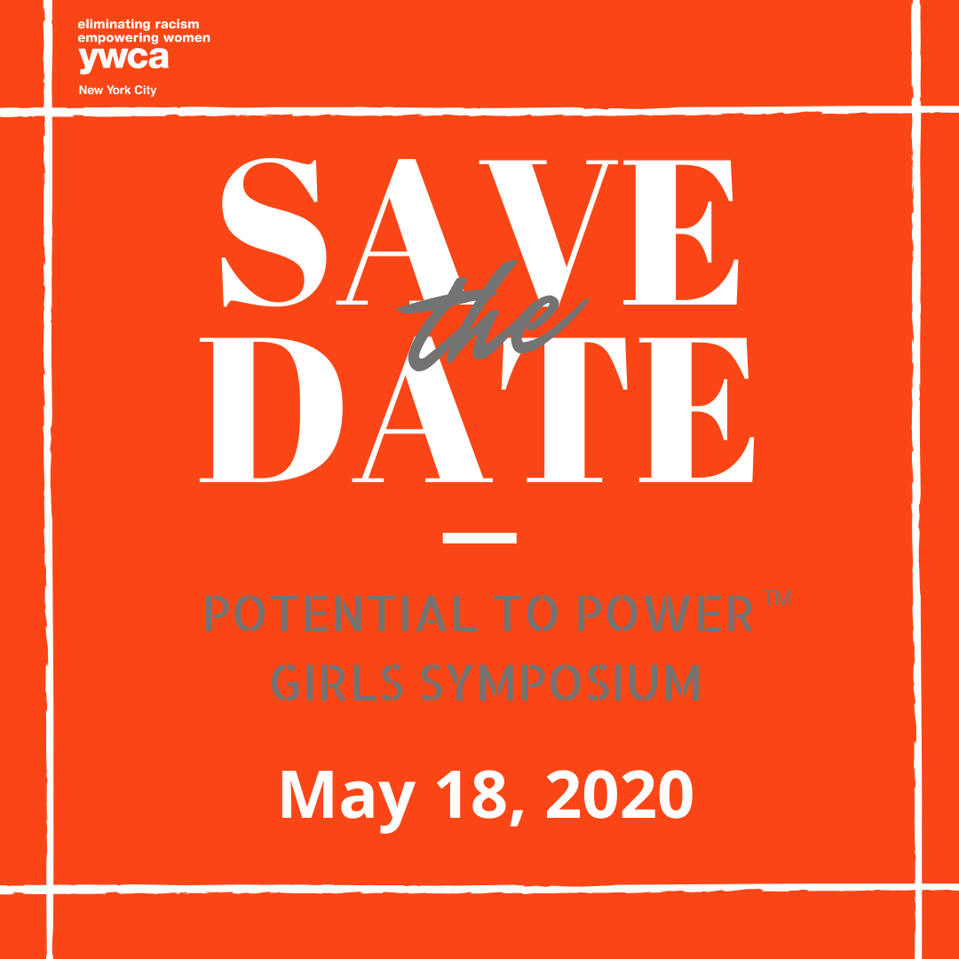 This save the date lists May 18 for the 2020 Girls Symposium